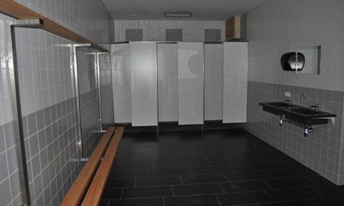 boothuys kleedkamers